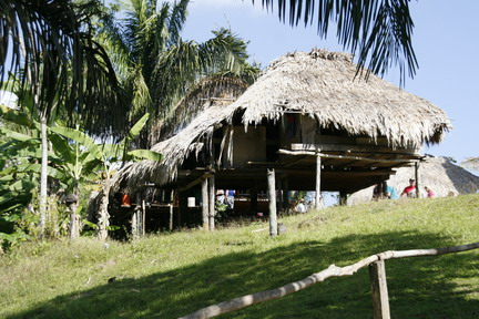 ©2013 The Amusing Muse - Embera Indian Village, Gatun Lake, Colon, Panama