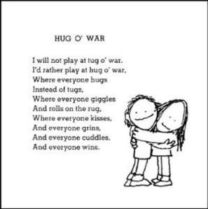 "Image - Shel Silverstein ""Hug O' War"""