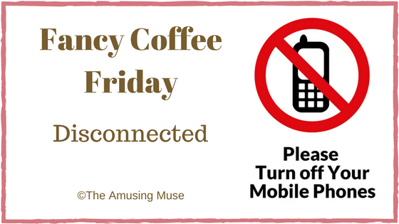 Fancy Coffee Friday: Disconnected