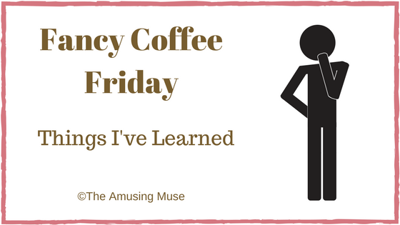 The Amusing Muse Fancy Coffee Friday Peenting Peepers and Petrichor