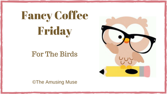 The Amusing Muse Fancy Coffee Friday: For The Birds