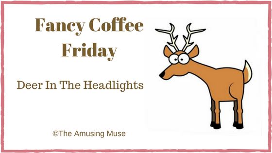 The Amusing Muse Fancy Coffee Friday: Deer In The Headlights