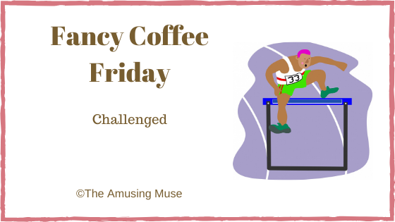The Amusing Muse : Challenged blog title post image of a man jumping a hurdle